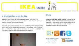IKEA Hackers: Start here  plein d'idées à partir des produits ikéa