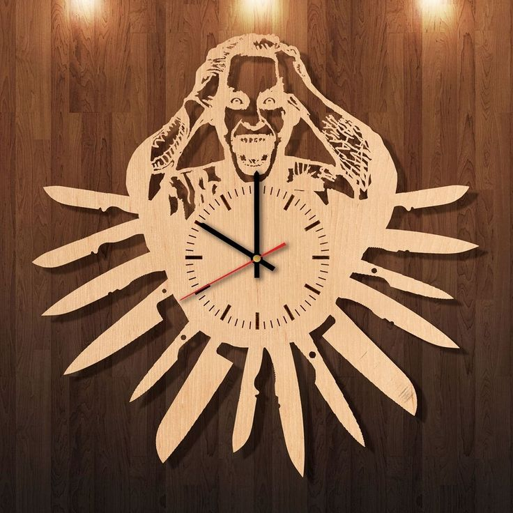 48 best wooden wall clocks images on Pinterest | Kitchen wall clocks ...