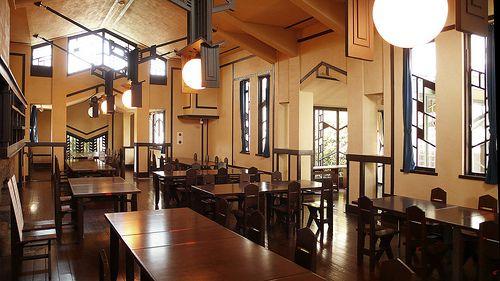 Jiyu Gakuen 1921 Myonichikan Japan Frank Lloyd Wright (1867-1959)