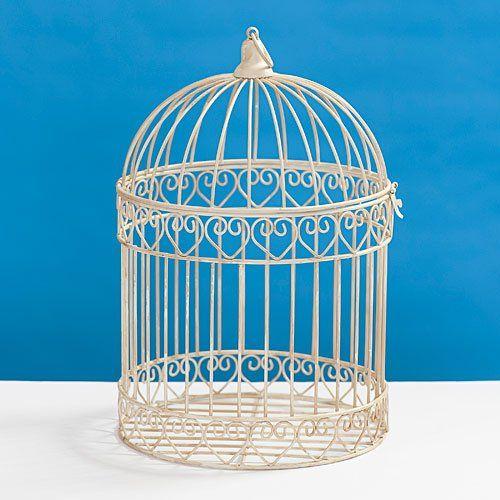 Decorative Ivory Bird Cage Centerpiece Shindigz http://www.amazon.com/dp/B00BL4IXHQ/ref=cm_sw_r_pi_dp_JH7lub0F2EX1M