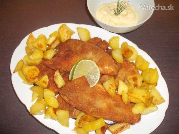 Vyprážané filety z kapra, podrobný návod na filetovanie rýb (fotorecept) - Recept