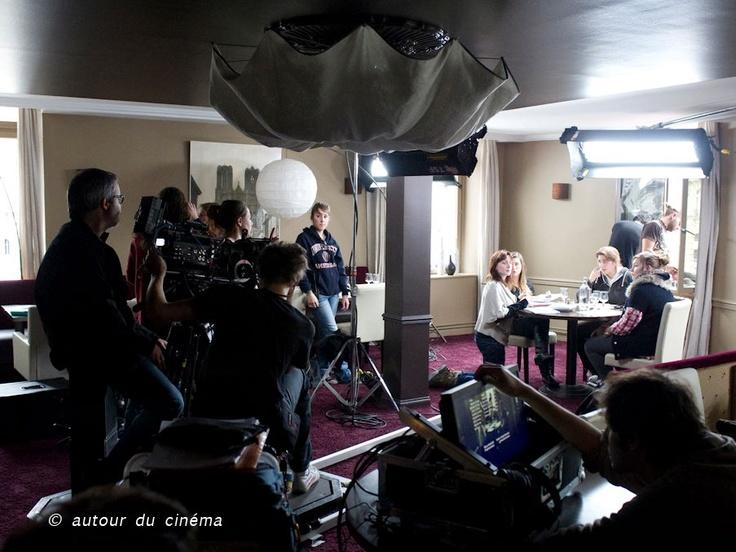 """Sur le tournage de """"Ce qui reste"""" dans le cadre du programme Ciném'ADC 2012.  PRODUCTION : Autour du Cinéma  REAL : Abel Monem & Sarah Lehu"""