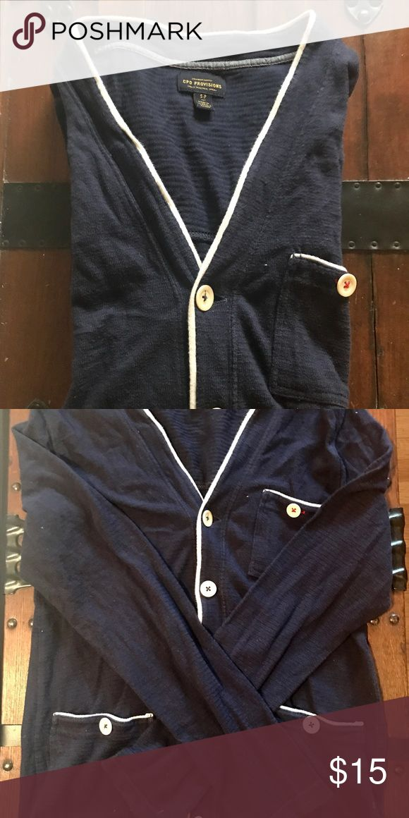 Urban Outfitters Tshirt Weight Cardigan CPO Provisions by Urban Outfitters Sz S excellent used condition. Lightweight cardigan. Urban Outfitters Shirts Tees - Long Sleeve