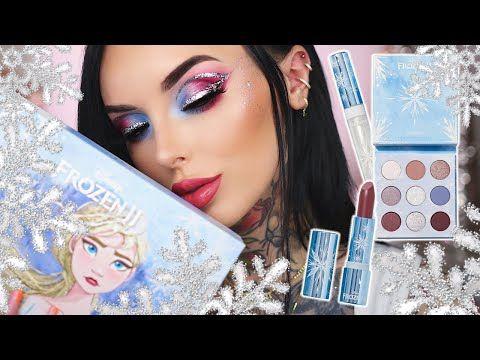 Colourpop Christmas 2020 COLOURPOP X FROZEN 2! ELSA PALETTE TUTORIAL | JINGLE BELLE