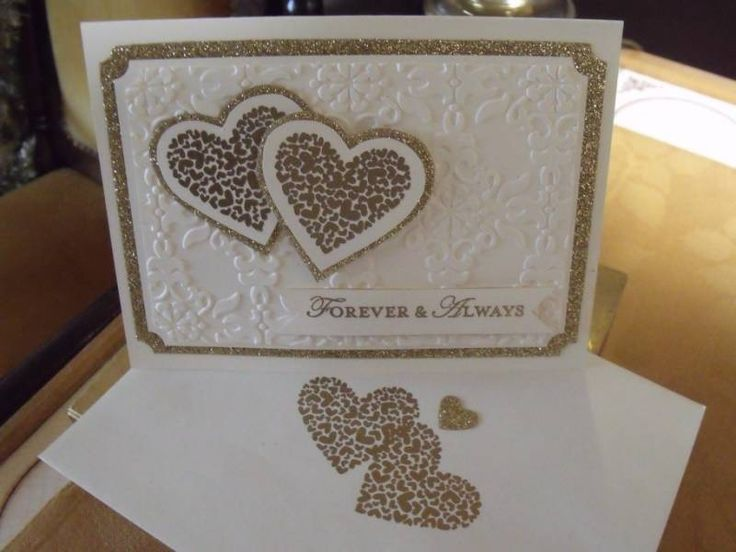 Anniversary Card by Rubberliscous - Cards and Paper Crafts at Splitcoaststampers