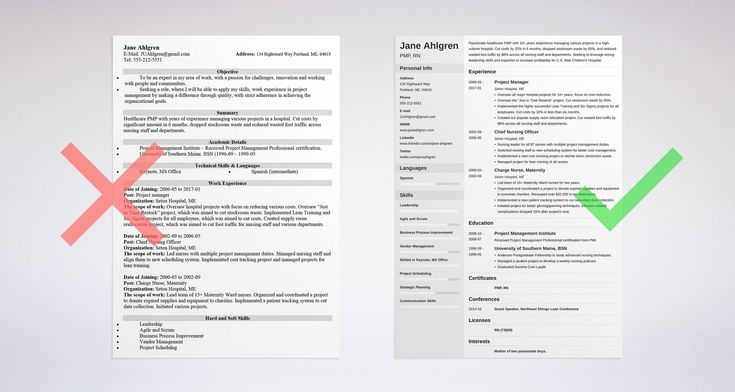Resume Outline Examples: Complete How-To Guide With 15+ Tips