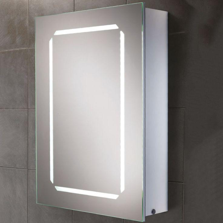 HiB Cosmic LED Demisting Mirror Cabinet with Shaver Socket