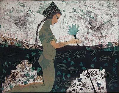 Kirsi Neuvonen, Grusian Flower Girl (1991)