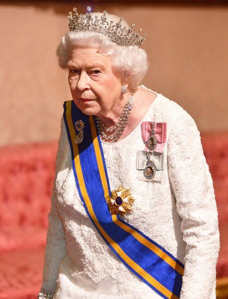 Queen Elizabeth Hosted A State Banquet For The Dutch King And Queen