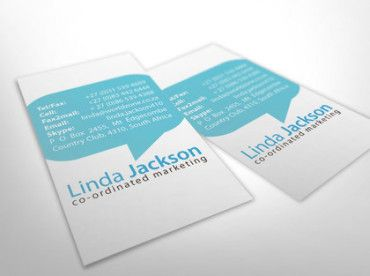 business card example from logodesignerblog2