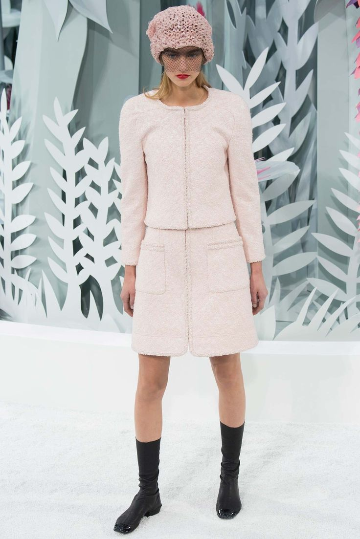 Chanel Spring 2015 Couture Fashion Show - Maartje Verhoef (Women)