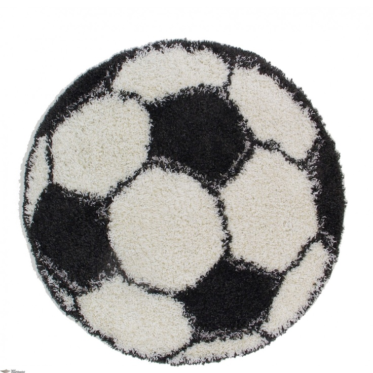 Vloerkleden / karpetten voetbal jongens    VLOERKLEED GOAL  Dit ronde vloerkleed ziet eruit als een voetbal. Het kleed is rond en heeft verschillende zwarte en witte vlakken. Het is een hoogpolig kleed en daardoor voelt het warm aan. Hij heeft een doorsnee van 120cm. Hierdoor past hij goed en gemakkelijk in een kinderkamer.    http://www.bestelvloerkleed.nl/collectie-vloerkleden/vloerkleed-voetbal-domino