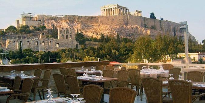 ΓΕΥΣΗ | Φαγητό με θέα Ακρόπολη: 6 οικονομικές διευθύνσεις