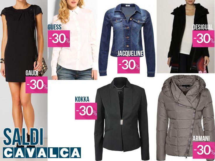 I must have da scegliere durante i #saldi! #cavalca #moda #fashion #varese #shopping #guess #desigual #kocca #armani #gaudì