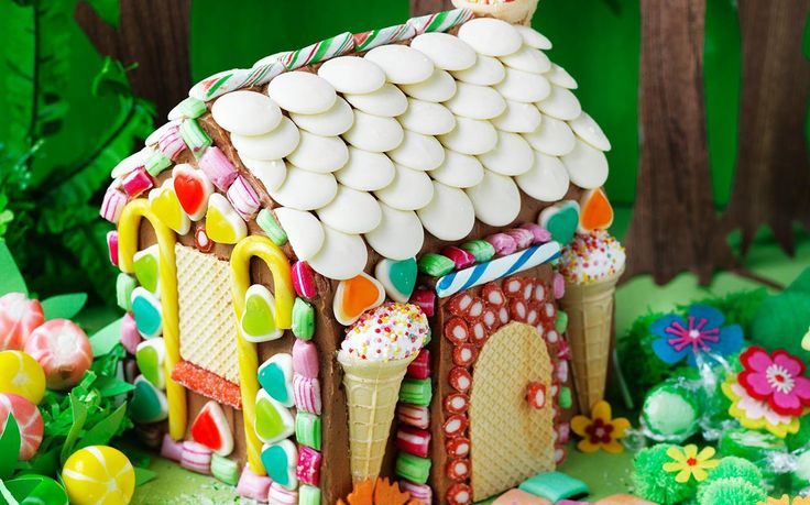 This Hansel and Gretel inspired, magic forest house cake is a fun one to get the kids involved. They can get creative and decorate the house with all the lollies.