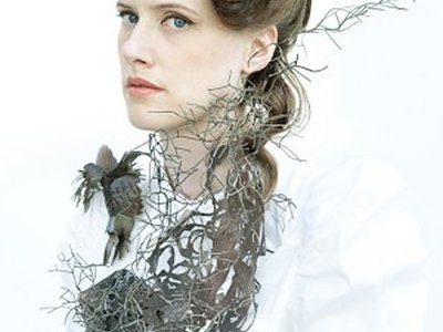 Hanna Hedman  Jewellery  I love her gorgeous mix of endangered flora and fauna throughout this handmade piece