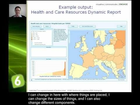 Learn how to present your data on interactive maps, charts & tables - InstantAtlas Desktop Overview     See video tutorial   http://www.youtube.com/watch?v=IEZjPsSeEZQ=PL46B9EF24AEDDF160=1=plpp_video