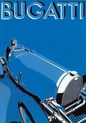 Bugatti Poster print.