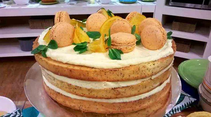 Torta bomba de limón por Damián Betular