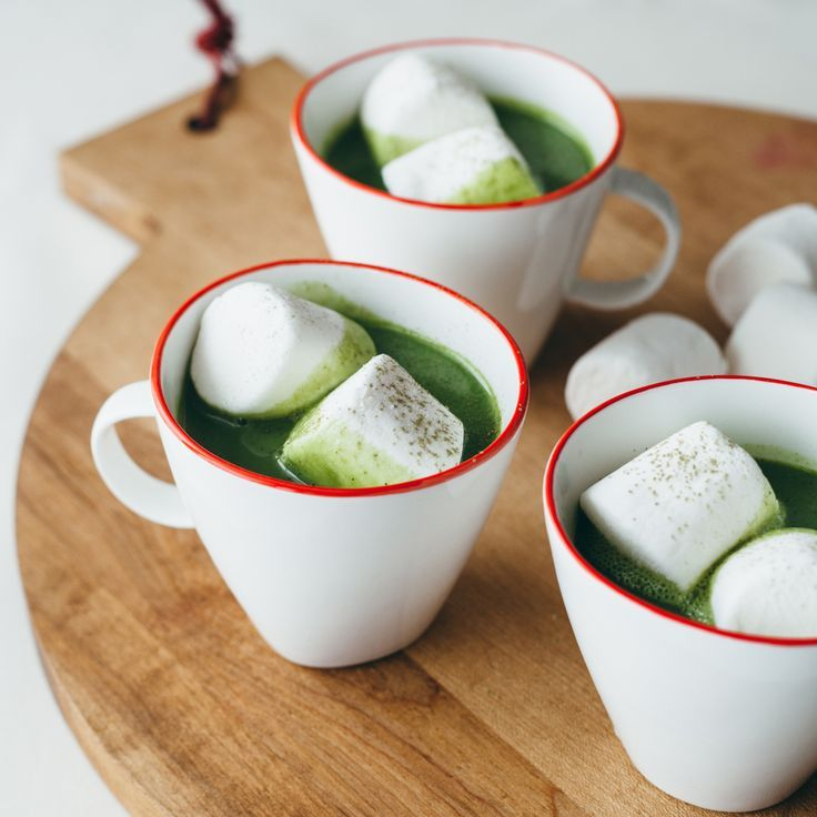 Matcha White Hot Chocolate | Food & Wine
