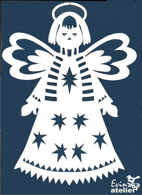 andělíček se šálou