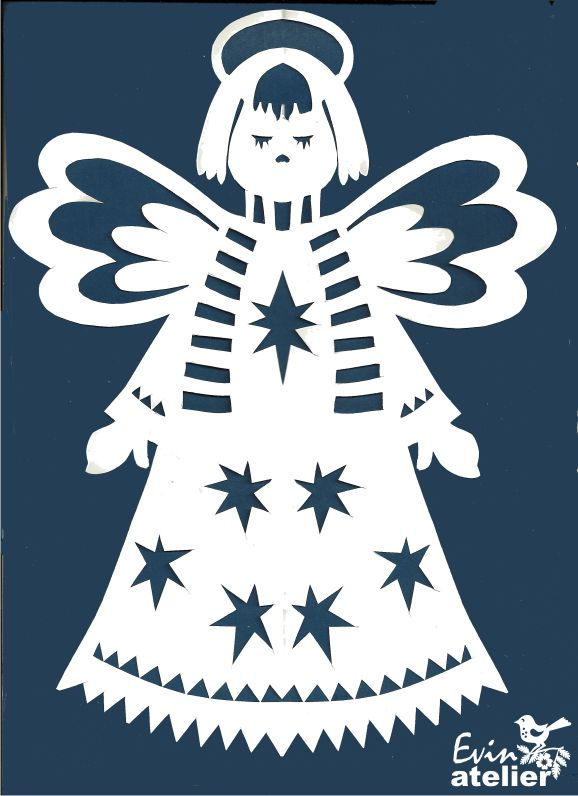 ♔ CHRISTMAS ANGEL SVG SILHOUETTE #CRICUT, #CRICUTEXPLORE