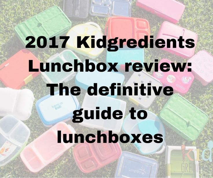 Welcome to the 2017 lunchbox review. The definitive guide to lunchboxes, 24 reviews, covering every lunchbox you could want or need.