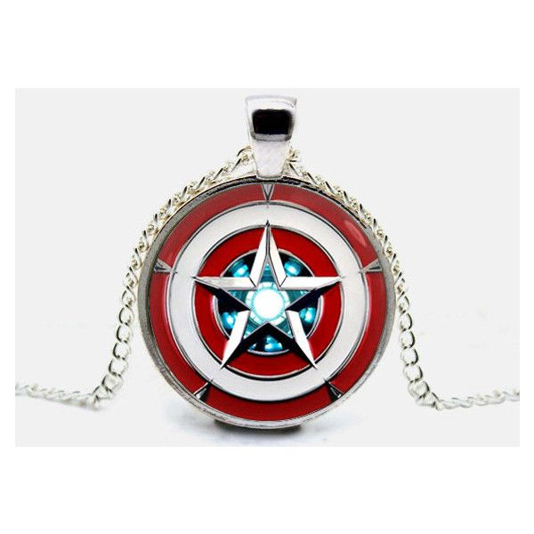 Best 25 chain pendants ideas on pinterest gold chain with captain america necklace iron man pendant arc reactor necklace jewelry 990 mozeypictures Gallery