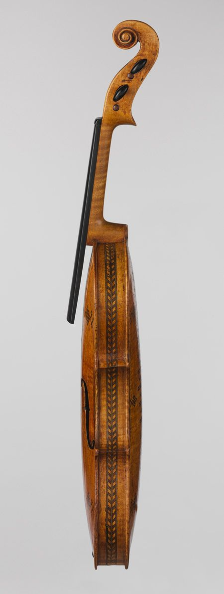 Detail, Violin, English or German, c. 1625