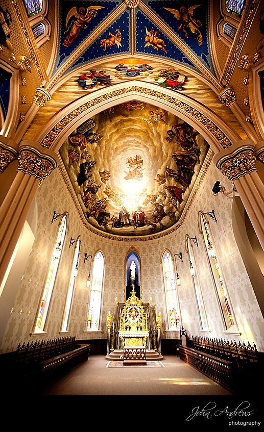 Basilica of the Sacred Heart – University of Notre Dame, Notre Dame, IN, USA