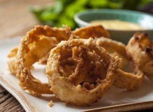 Receita Dedo de Moça: Onion rings