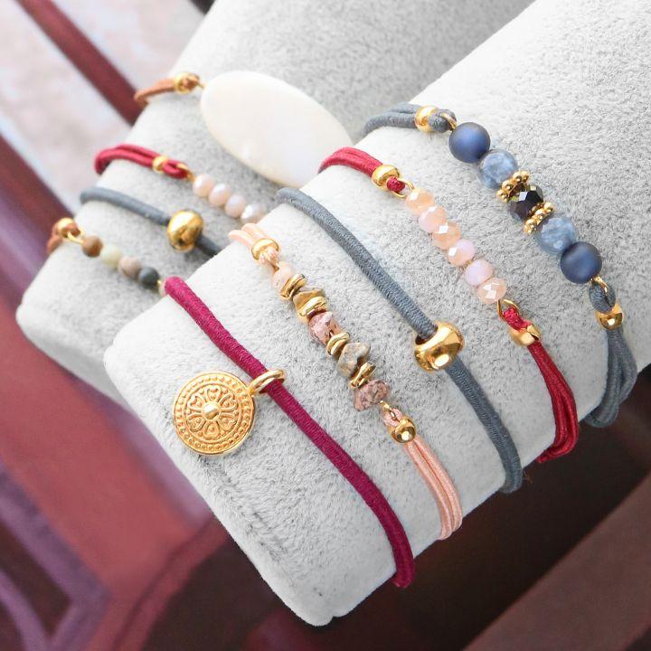 Maak de meest trendy sieraden voor deze herfst met nieuw gekleurd elastisch draad!