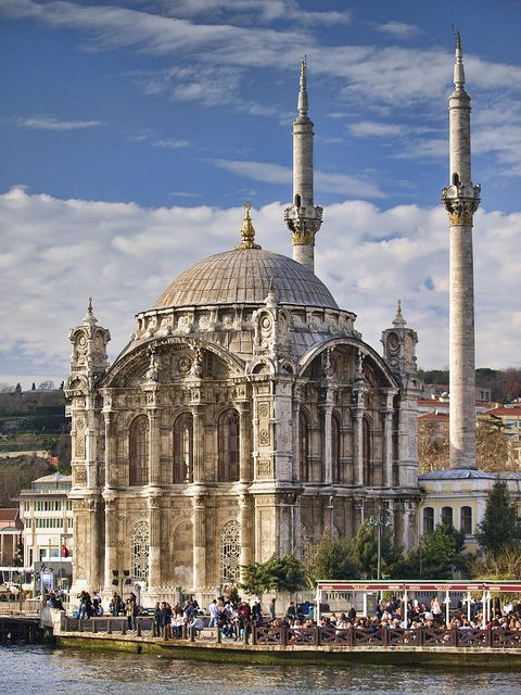 Ortaköy . Mosque . Istanbul