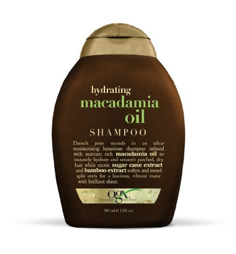 OGX  Shampoo Hydrating Macadamia Oil 13oz ** Click on the image for additional details.Note:It is affiliate link to Amazon.