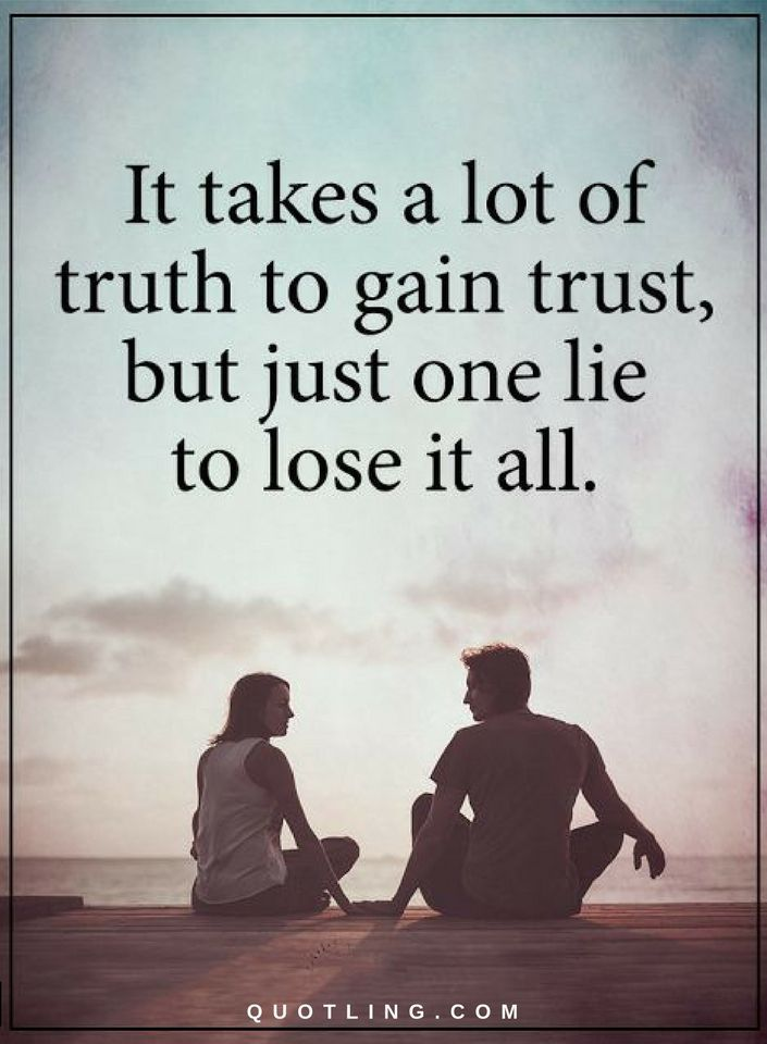 how to gain trust in a relationship