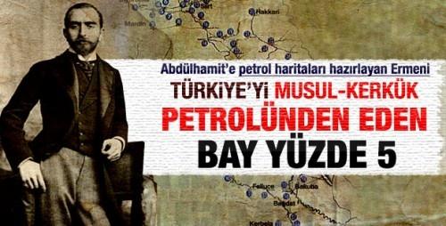 Abdülhamit'e Petrol Haritaları Hazırlayan Ermeni