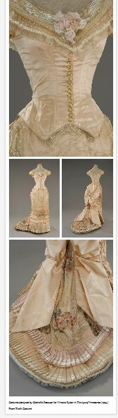 Costume designed by Gabriella Pescucci for Winona Ryder in The Age of Innocence