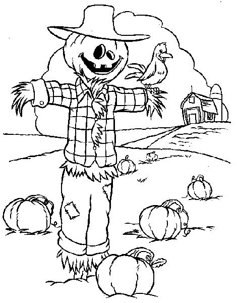 halloween and fall coloring pages - photo #20