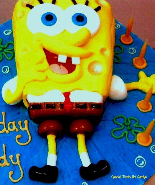 Such a fun character - for lovers of Sponge Bob!