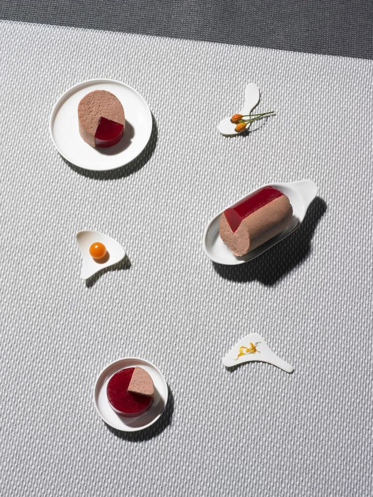 Milan: ECAL Future Sausage exhibition - mild liver with tangy raspberry jelly