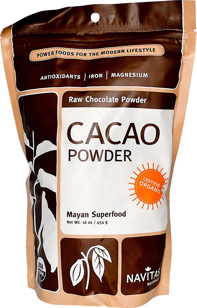 #vitacostfoodie - Navitas Naturals Organic Cacao Powder Raw Chocolate. This is perfect for so many granola recipes!!