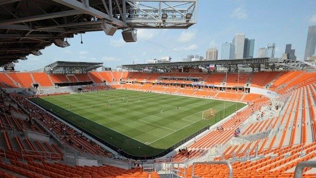Houston Dynamo's new BBVA Compass Stadium