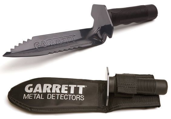Metal Detector Accessories: Garrett Edge Digger For Metal Detecting ~ Free Sheath Included BUY IT NOW ONLY: $33.95