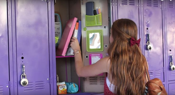 Take your locker to a whole new level with these organizational tips from YouTub...