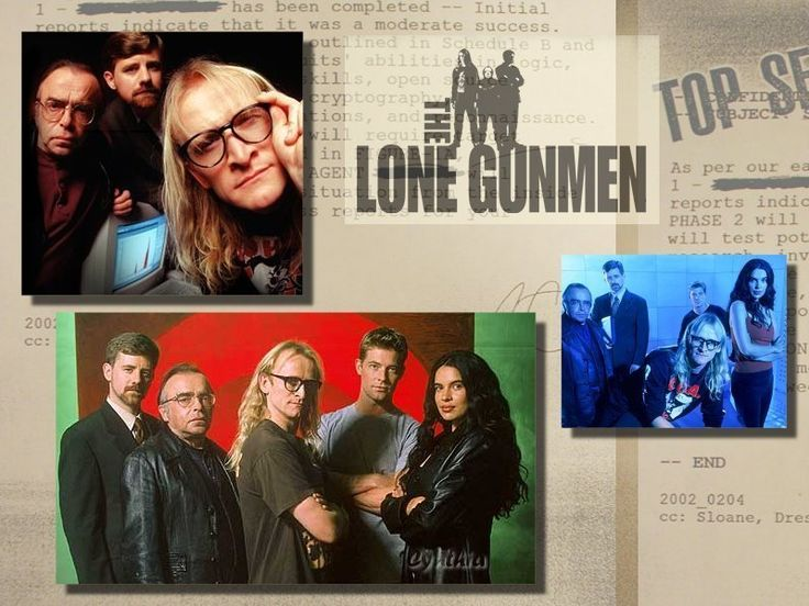 The Lone Gunmen images Lone Gunmen HD wallpaper and background