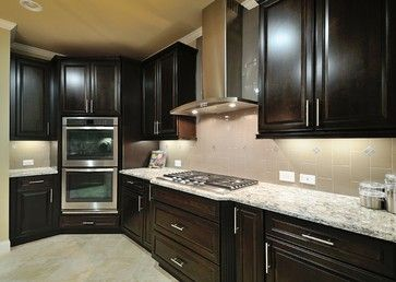 Cambria Bellingham With Espresso Cabinets Light Floors