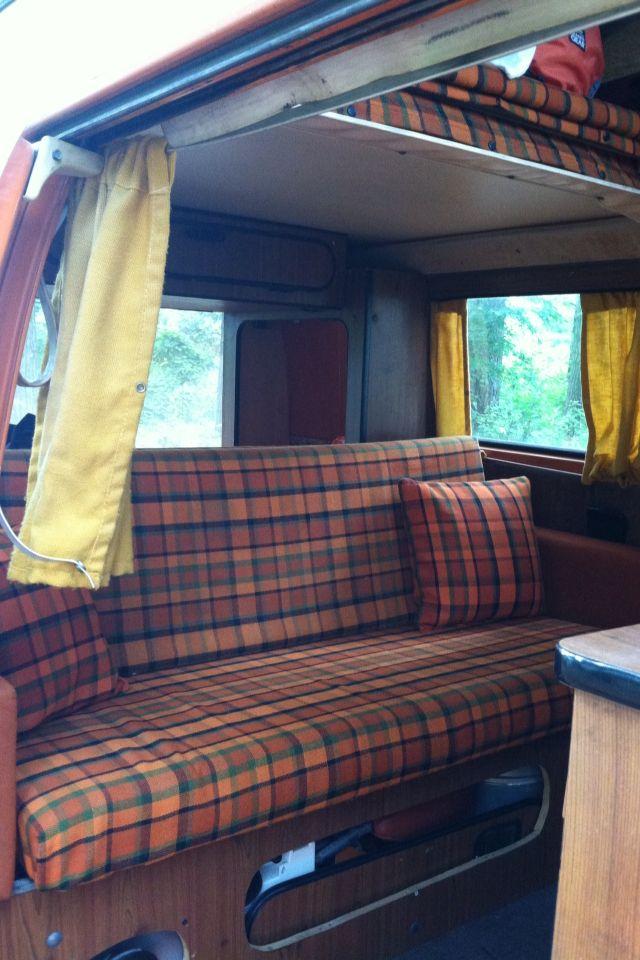 Our 74 Vw Bus Interior Vw Bus Pinterest Vw Bus
