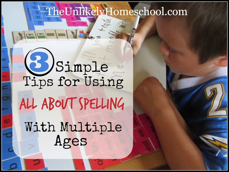 3 Tips for Using All About Spelling with Multiple Ages {The Unlikely Homeschool}