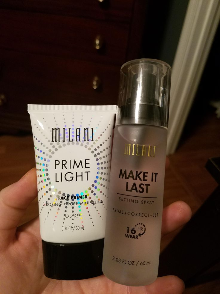 Milani Primer and Setting Spray mini review