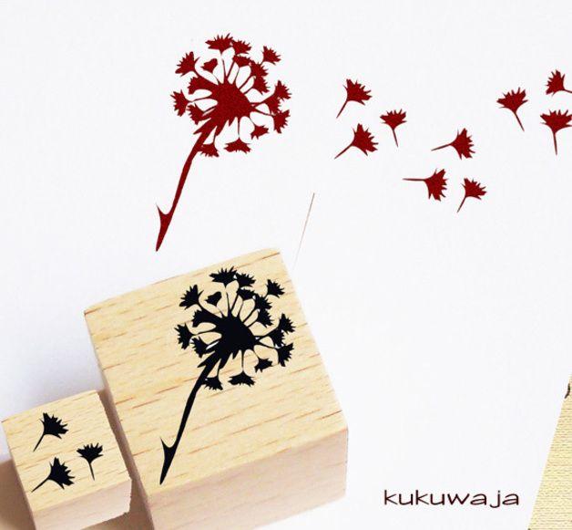 *kukuwaja - 2er Stempel Set Pusteblume* bei Dawanda für 7,95